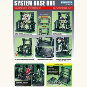 Builders Parts System Base #1 Black