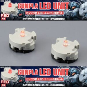 452 - Gunpla LED Unit RED 2 Pc set