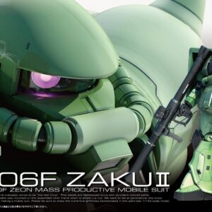 1/144 RG MS-06F Zaku II 04