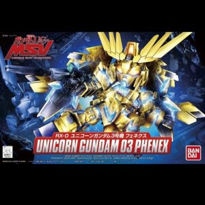 BB Unicorn Gundam 03 Phenex