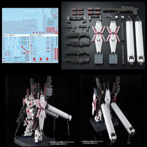 Exclusive 1/60 PG Unicorn Full Armour Set