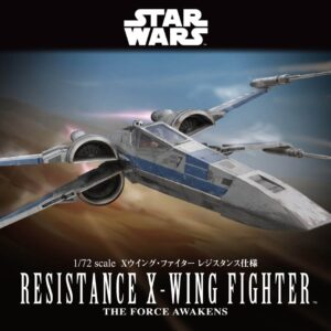 Bandai Star Wars:  1/72 Resistance X-Wing Fighter