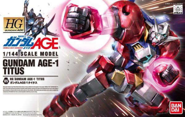 HG Gundam AGE-1 Titus