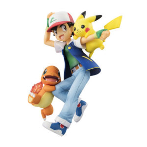Pokemon Ash & Pikachu & Charmander