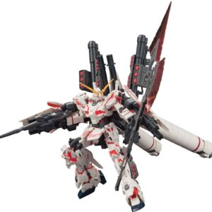 1/144 HGUC Full Armor Unicorn Gundam (Destroy Mode / Red color Ver.)