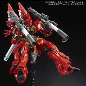 Exclusive 1/144 RG Sinanju Special equipments