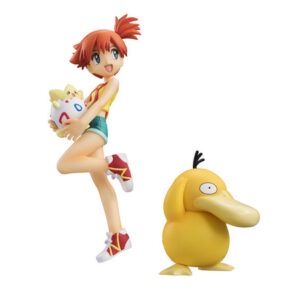 Pokemon Misty & Togepi & Psyduck