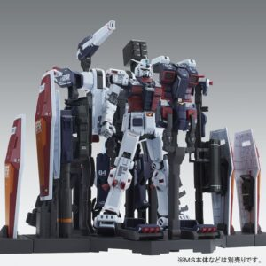 Exclusive 1/100 MG Full Armor Gundam Ver Ka Weapon and Hangar Set