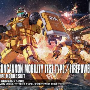 1/144 HG Guncannonn Mobility Test Type / Thermal Test Type