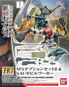 HG 1/144 MS Option Set 8 & SAU Mobile Worker