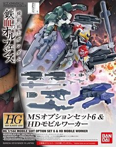 1/144 HG MS Option Set 6 & HD Mobile Worker