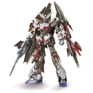 Exclusive HG RX-0 Unicorn Gundam 03 Phenex type RC (Unicorn Mode) Silver Coating Ver.