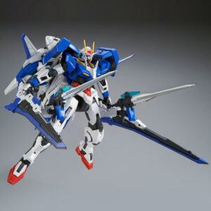 Exclusive MG 1/100 GN-0000+GNR-010/XN OO XN Raiser Plastic Model W/LED