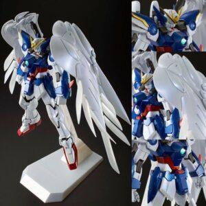P-Bandai Exclusive MG 1/100 Wing Gundam Zero Custom EW + Drei Zwerg (Special Coating)