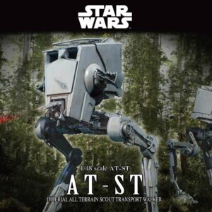 Bandai Star Wars: AT-ST 1/48 Scale Star Wars All Terrain Scout Transport Walker