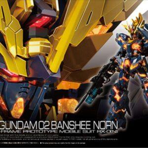 Pre-owned (Item:A/Box:B) 1/144 RG Unicorn Gundam 02 Banshee Norn