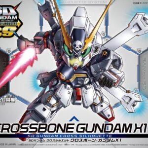 #02 SD Gundam Cross Silhouette CrossBone Gundam X1