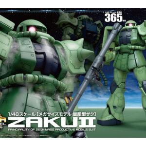 1/48 Mega Size MS-06 Zaku (Coming Soon)
