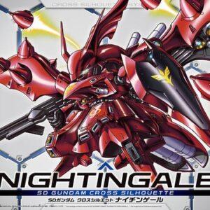 #03 SD Gundam Cross Silhouette Nightingale