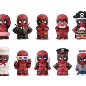 Deadpool: Soft Vinyl Finger Puppet Mascot: 1 Box (10pcs)