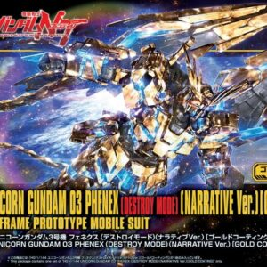 1/144 HGUC Unicorn Gundam 03 Phenex (Destroy Mode) (Narrative Ver.) [Gold Coating]