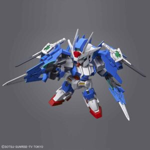 #06 SD Gundam Cross Silhouette Gundam 00 Diver Ace