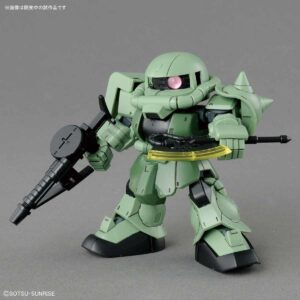 #04 SD Gundam Cross Silhouette Zaku II