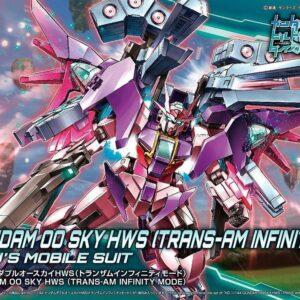 1/144 HGBD Gundam 00 Sky HWS [Trans-Am Infinity mode]