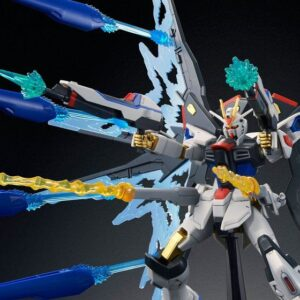 P-Bandai: HGCE 1/144 Strike Freedom Gundam + Wing of Light DX Edition