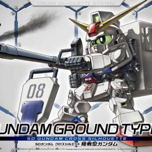 #11 SD Gundam Cross Silhouette Gundam Ground Type