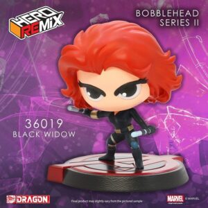 Bobble Head Marvels Avengers Black Widow