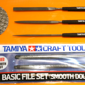 Tamiya Basic File Set (Smooth Double-Cut)