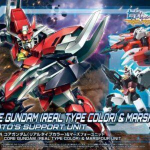 1/144 HDBD:R Core Gundam (Real Type Color) & Marsfour Unit (Nov 2019 Release)
