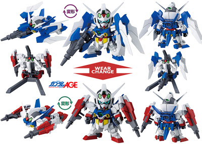 BB Gundam AGE-2 (Normal & Double Bullet)