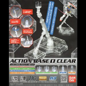 Action Base 1 Clear MG HG RG
