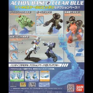 1/144 Action Base 2 Clear Blue
