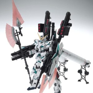 Pre-owned (Item:A/Box:B) 1/100 MG Full Armor Unicorn Gundam Ver.Ka