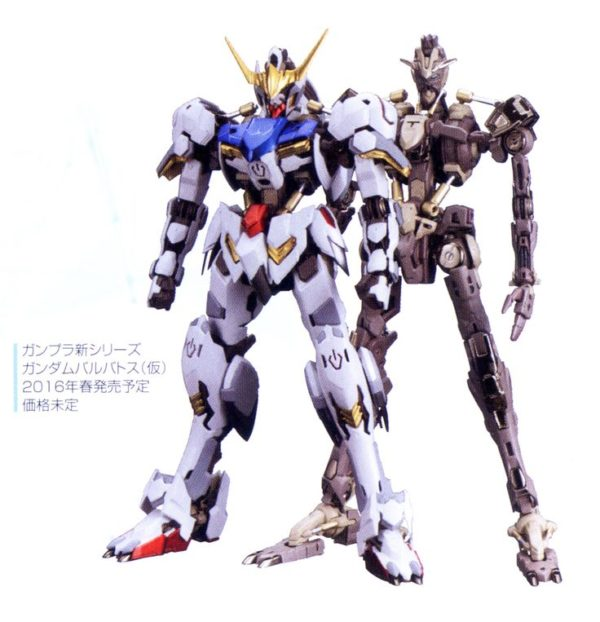 High-Resolution Model Gundam Barbatos