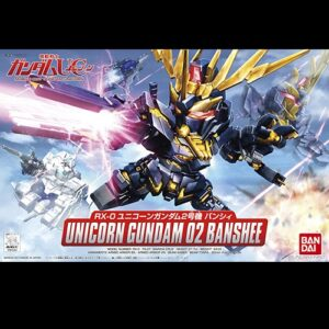 BB Unicorn Gundam 02 Banshee
