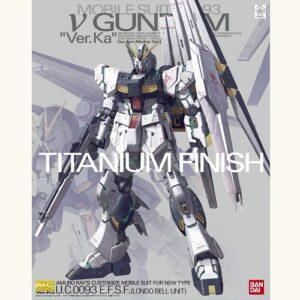 1/100 MG Nu Gundam Ver Ka Titanium Finish Ver