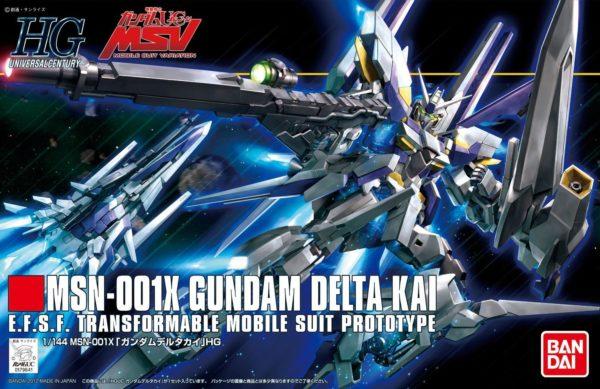 HGUC Gundam Delta Kai
