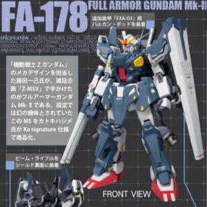 Robot Spirits (SIDE MS) Full Armor Gundam Mk-II [Tamashii Web Exclusive]