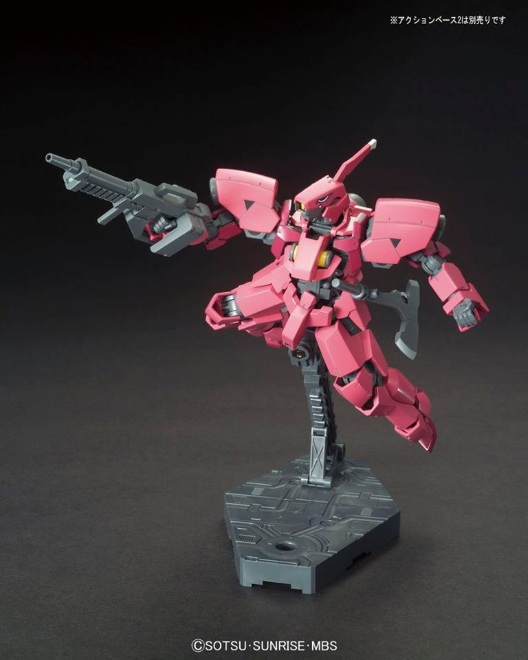 012 BANDAI Model Kit 1//144 HG Iron-Blooded Orphans RYUSEI-GO GRAZE CUSTOM II