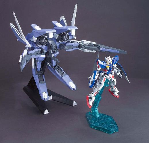 HG GN Arms Type E + Gundam Exia