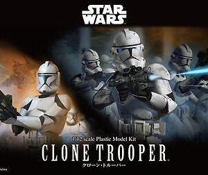 Bandai Star Wars: 1/12 Clone Trooper