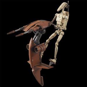 Bandai Star Wars: 1/12 Batalle Droid & Stap