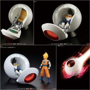 Figure-rise Mechanics Saiyan Space Pod  (by Bandai)