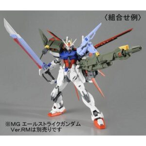 P-Bandai: MG 1/100 Strike Gundam Ver.RM Launcher Striker / Sword Striker Pack (Oct 2020 Reissue)