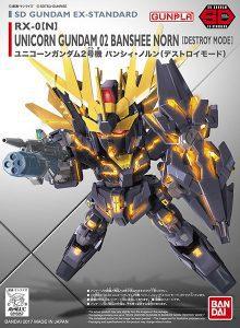 SD Gundam EX Standard Unicorn Gundam 2 Banshee
