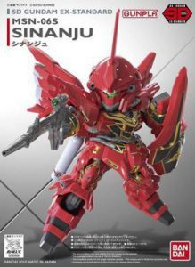 SD Gundam EX Standard Sinanju